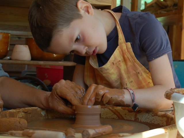 Clay workshops...