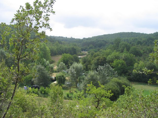 The valley of La Combe